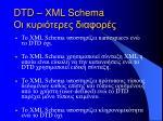 dtd xml schema