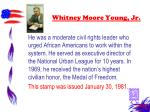 whitney moore young jr