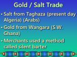 gold salt trade