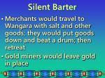 silent barter