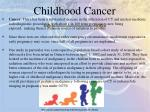 childhood cancer1
