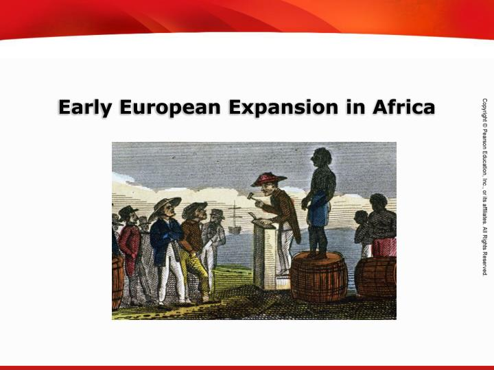 early european expansion in africa n.