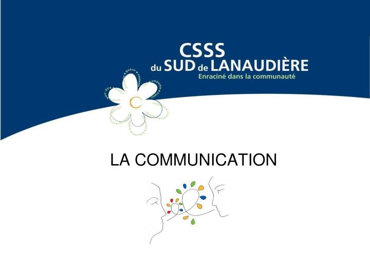 la communication n.