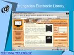 hungarian electronic library