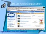 john von neumann digital library
