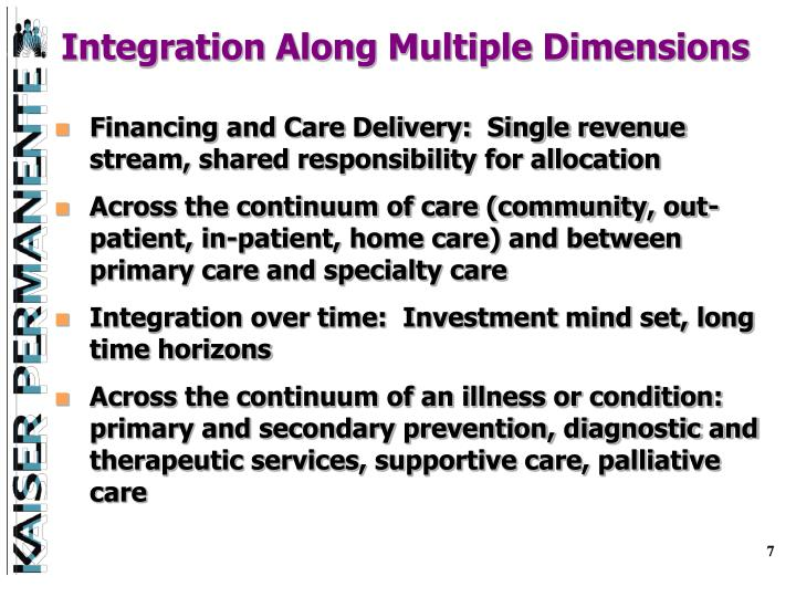 Integration Along Multiple Dimensions