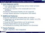 example tool openarchitectureware generator1