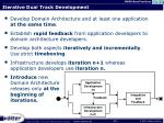 iterative dual track development