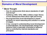 domains of moral development1