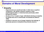 domains of moral development15