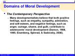 domains of moral development16