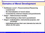 domains of moral development4