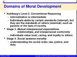 domains of moral development5