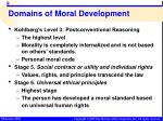 domains of moral development6