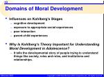 domains of moral development7