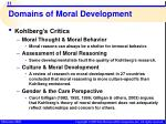domains of moral development8