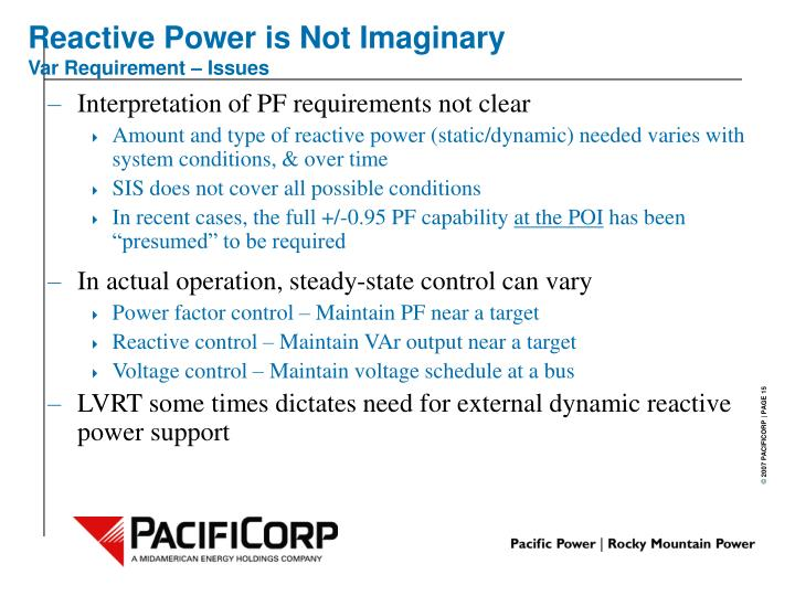 Reactive Power is Not Imaginary