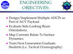 engineering objectives