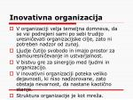 inovativna organizacija