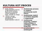 kultura kot proces