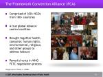 the framework convention alliance fca