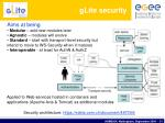glite security