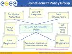 joint security policy group