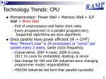 technology trends cpu