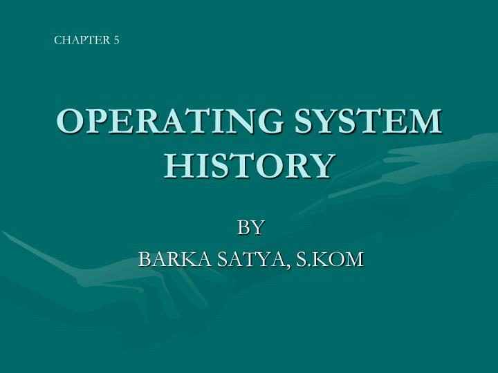 operating system history n.