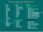 sistem operasi berlisensi1