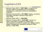 legislativa lfa1