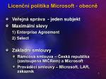 licen n politika microsoft obecn2