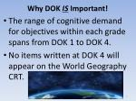 why dok is important1