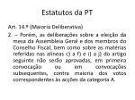 estatutos da pt3
