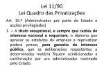 lei 11 90 lei quadro das privatiza es1