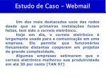 estudo de caso webmail