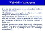 webmail vantagens