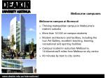 melbourne campuses