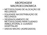 abordagem macroeconomica