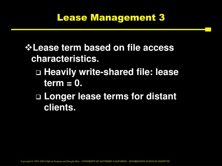 Lease Management 3