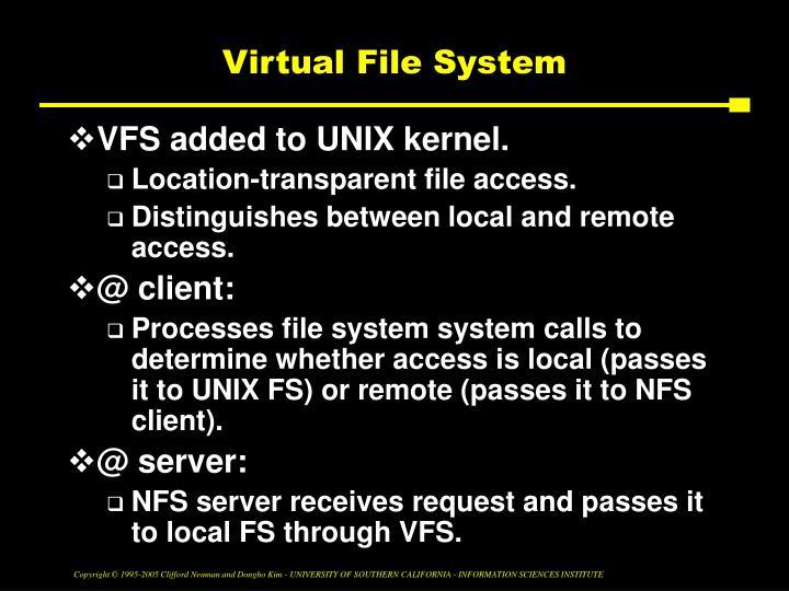 Virtual File System