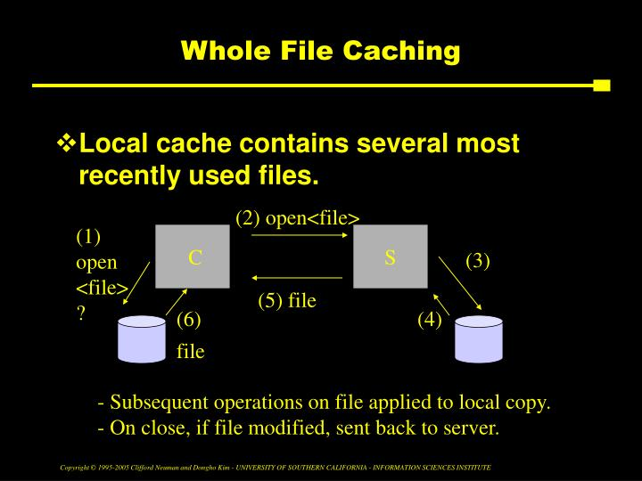 Whole File Caching