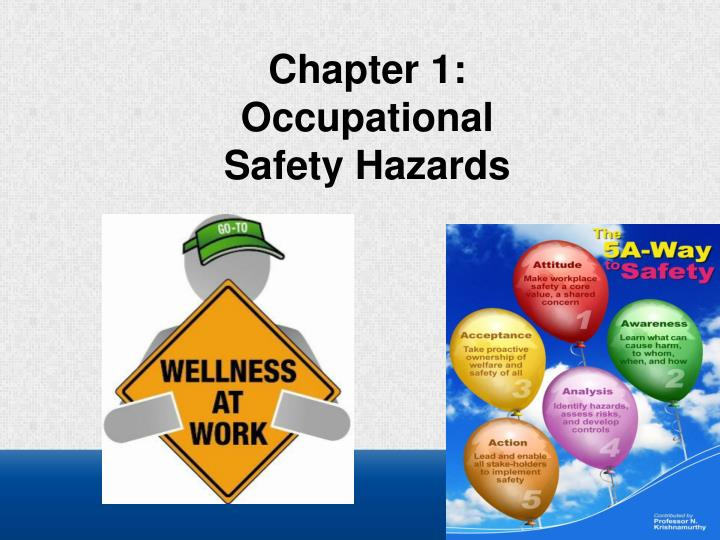 PPT - Chapter 1: Occupational Safety Hazards PowerPoint