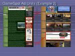 gamespot ad units example 2