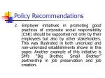 policy recommendations1