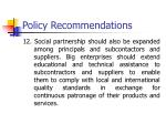 policy recommendations11