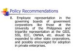 policy recommendations7