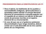 procedimientos para la constitucion de las cti1
