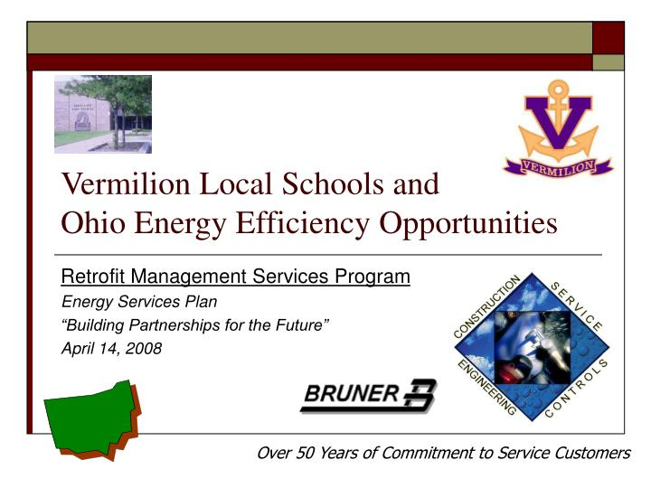 vermilion local schools and ohio energy efficiency opportunities n.