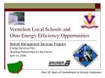 vermilion local schools and ohio energy efficiency opportunities
